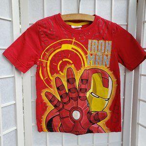 NWOT ! Marvel Iron Man Red T-shirt Size 4